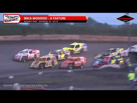 Modified Feature - Raceway Park - 6/2/19