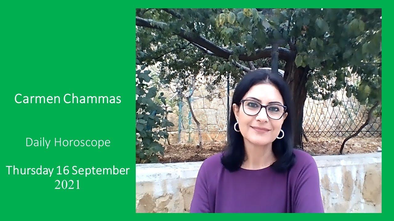 Daily horoscope: Thursday 16 September 2021