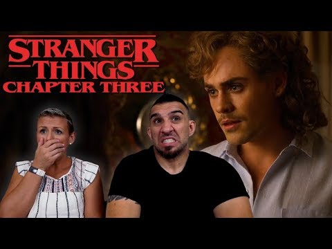 Stranger Things Season 3 'Chapter Three: The Case of the Missing Lifeguard' REACTION!!