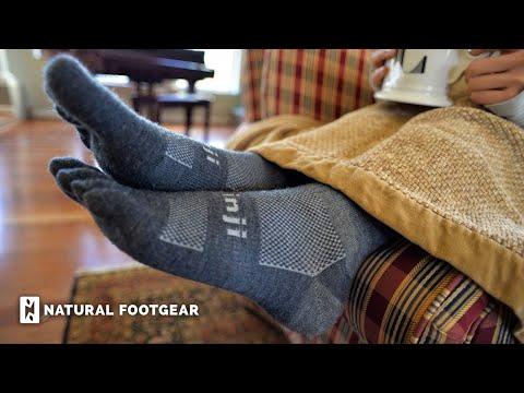 Injinji Crew Wool Toe Socks Review | Natural Footgear