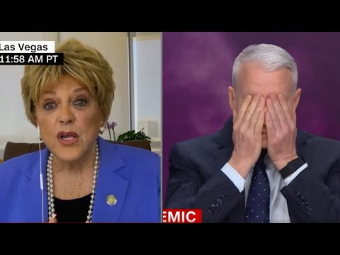 Watch Anderson Cooper GRILL Las Vegas Mayor on Coronavirus Comments