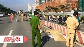 Xe trộn bê tông cán chết 2 nữ sinh 9x | VTC