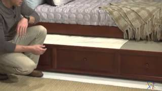 Casey Daybed - Walnut - Free Mattress - Product Review Video