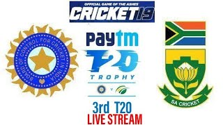 India vs South Africa 3rd T20 Live Stream (Cricket 19)