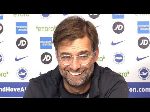 Brighton 0-1 Liverpool - Jurgen Klopp Full Post Match Press Conference - Premier League