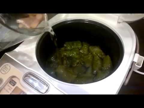 Как готовить долму в мультиварке