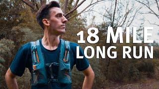 18 Mile Long Run in Saucony Kinvara 10's // Marathon Training