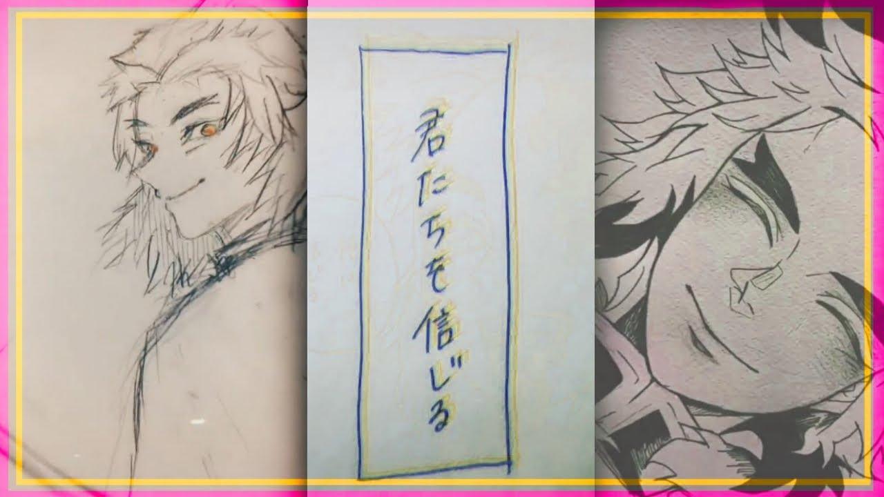 【ティックトック絵】 鬼滅の刃 煉獄杏寿郎 まとめ 【イラストまとめ】  Tik Tok Painting/Drawing #10