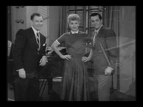 Lucille Ball And Desi Arnaz - Behind the Scenes Segment Of The MGM Parade TV Series