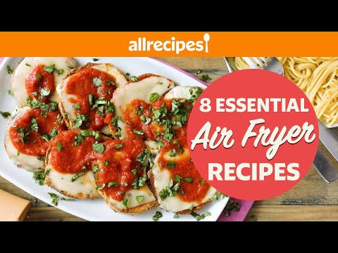8 Air Fryer Recipes You Didn't Know You Needed | Eggplant Parm, Cannolis, Mozzarella Sticks, More!