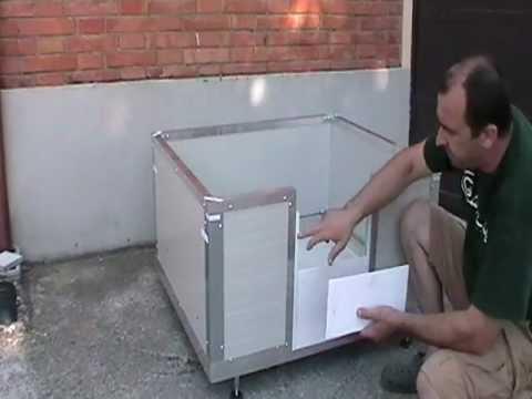 Cassa parto ingresso a moduli sovrapposti youtube for Cassa parto cani usata