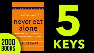 Never Eat Alone Book Summary - Keith Ferazzi