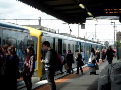 Melbourne's overcrowded public transport