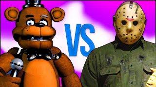 ПЯТНИЦА 13 VS 5 НОЧЕЙ С ФРЕДДИ СУПЕР РЭП БИТВА Friday the 13th Jason VS Five Nights At Freddy s
