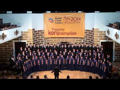 Diocesan Choral Society in World Choir Games Riga, Latvia