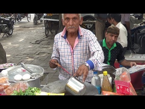 Most Senior Man Carrying A Shop   We Must Salute Him   Delhi Street Food