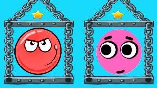 Love Balls Daily Challenge Vs Red Ball 4 - Box Factory - Gameplay Walkthrough (iOS)