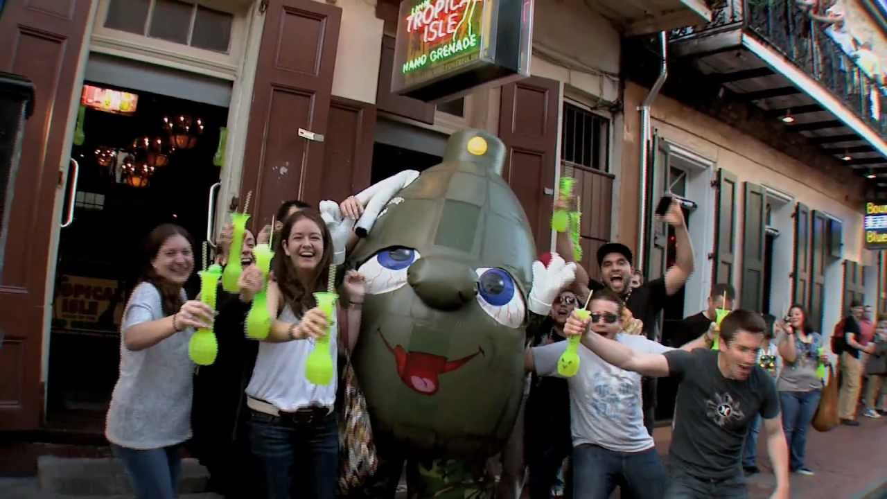 New Orleans Most Powerful Drink | Hand Grenade Commercial | Tropical Isle  New Orleans