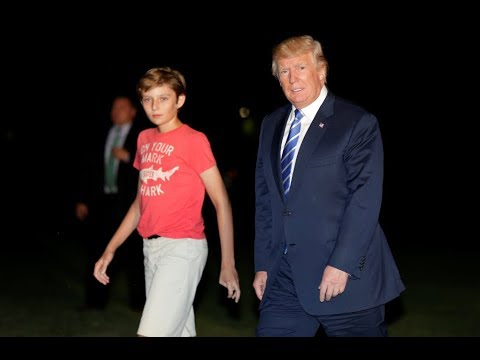 It's High Time Barron Trump Starts Dressing However the Hell He Wants