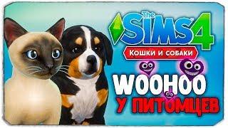 """WOOHOO У ПИТОМЦЕВ - The Sims 4 """"Кошки и Собаки"""""""