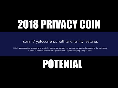 Zoin (ZOI) is this the next big Privacy Coin
