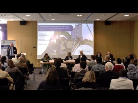 """""""Human and sustainable development goals"""" Public Panel Discussion at ZEF Board Meeting 2013"""