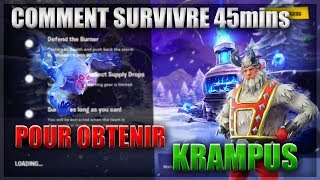 SURVIVRE TO FANTOMS - DEBLOQUER THE KRAMPUS - FORTNITE SAUVER THE WORLD