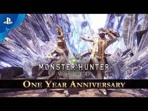 Monster Hunter: World - One Year Anniversary Celebration | PS4 thumbnail