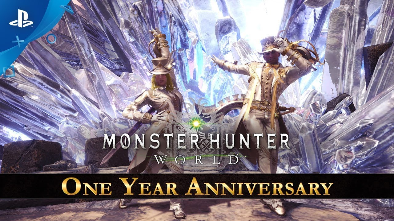 Monster Hunter: World - One Year Anniversary Celebration | PS4