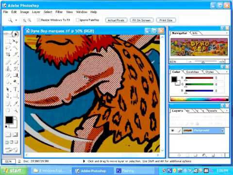 How to restore arcade and pinball artwork using photoshop