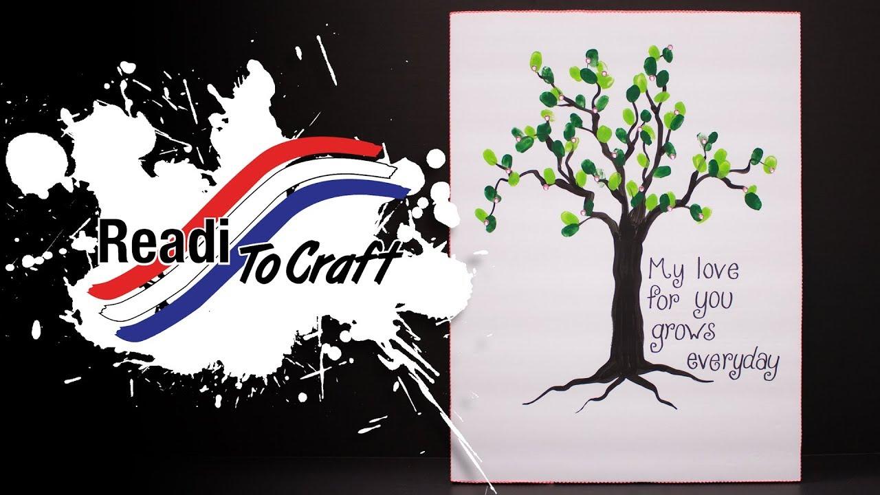 Readi to Craft: Fingerprint Tree