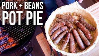 Pork 'n Beans Pot Pie by the BBQ Pit Boys