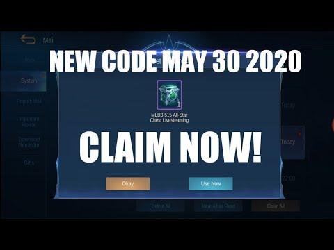 NEW ML REDEMPTION CODE MAY 30 2020 LEGIT GUYS! - YouTube