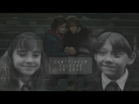 ▻ron & hermione | can't help falling in love {LSC}