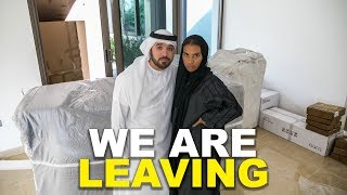 WE ARE LEAVING