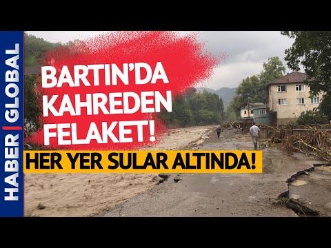 Köprüler Bile Yıkıldı! Bartın'da Büyük Sel Felaketi!