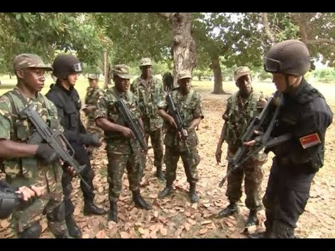 Chinese Navy's Special Operation Detachment Exchange with Tanzanian Marine Corps