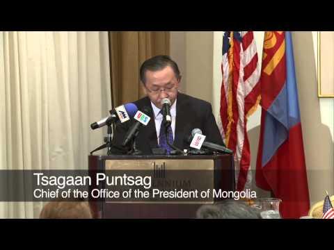 Repatriation of a Tyrannosaurus Bataar to Mongolia