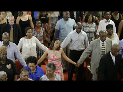 Charleston's Emanuel AME Church: Scenes From Service