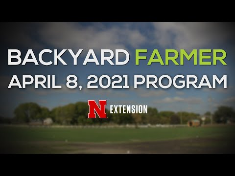 Backyard Farmer April 8, 2021