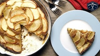 Apple Skillet Cake Recipe - Le Gourmet TV 4K