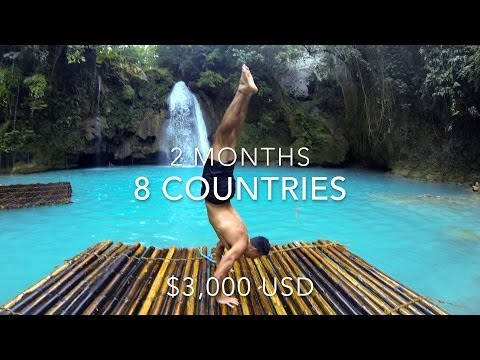 8 Countries. 2 Months. 1 GoPro.