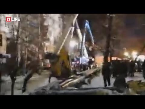 Взрыв газа в Магнитогорске. Поисковые работы
