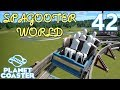 Planet Coaster SPAGOOTER WORLD - Part 42 - Side Friction Coaster!