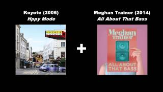 Koyote - Happy mode vs Meghan Trainor - All about that bass