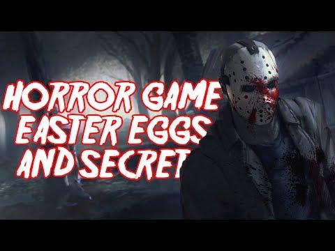 Horror Game Easter Eggs & Secrets - Episode 1