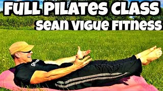 FULL 45 Min Pilates Beginner/Intermediate Workout - Sean Vigue Fitness - Best Pilates Workout Video