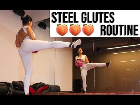 Rutina para tener Gluteos tonificados y fuertesI Routine to get strong and toned Glutes🍑 thumbnail