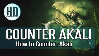 How to Counter: Akali - Tips & Tricks against Akali - League of Legends