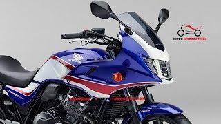 2019 Honda CB400 ABS SUPER FOUR Released | 2019 Honda CB400 SUPER FOUR BOL D'OR New Color